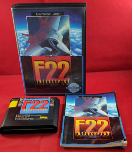 F22 Interceptor Sega Mega Drive Game