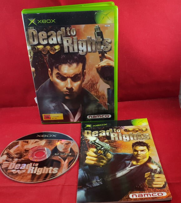 Dead to Rights Microsoft Xbox Game