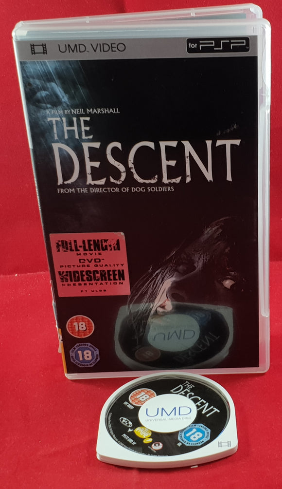 The Descent Sony PSP UMD