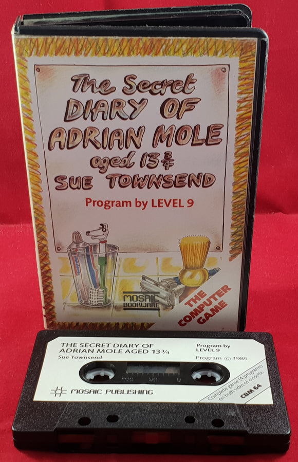 The Secret Diary of Adrian Mole Commodore 64 Game