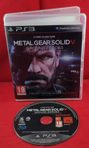 Metal Gear Solid V Ground Zeroes Sony Playstation 3 (PS3) Game