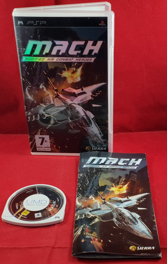 M.A.C.H Modified Air Combat Heroes Sony PSP Game