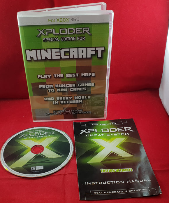 Xploder Cheats Special Edition for Minecraft Microsoft Xbox 360