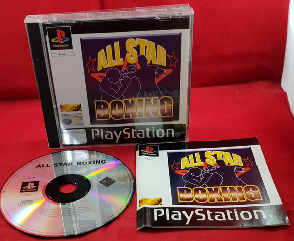 All Star Boxing Sony Playstation 1 (PS1) Game