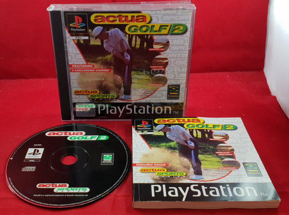 Actua Golf 2 Sony Playstation 1 (PS1) Game