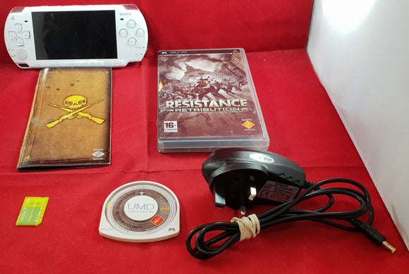 Sony PSP 2003 Console with Resistance Retribution and 1 GB Memory Card