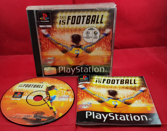 This is Football Sony Playstation 1 (PS1) Game