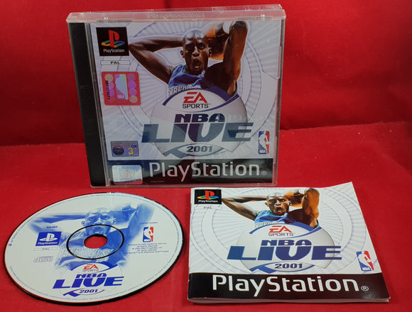 NBA Live 2001 Sony Playstation 1 (PS1) Game