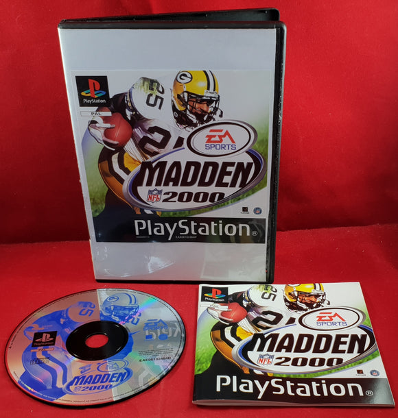 Madden NFL 2000 Sony Playstation 1 (PS1) Game