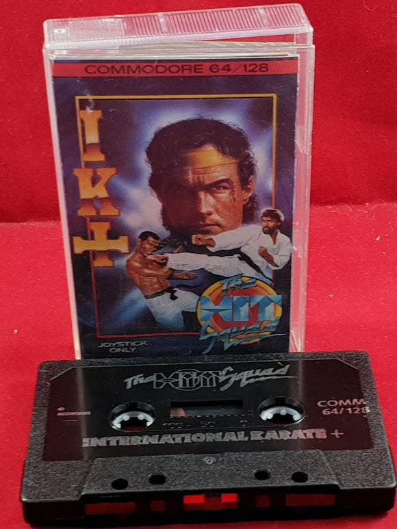 IK+ (International Karate +) Commodore 64 Ultra RARE Game