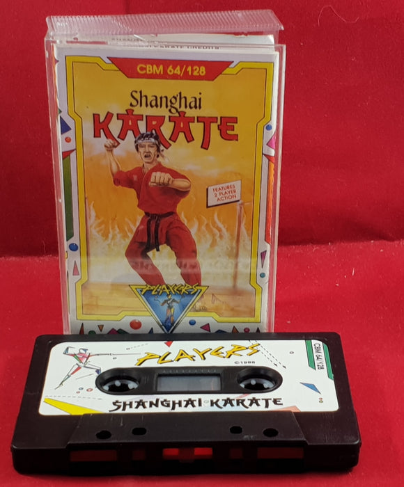 Shanghai Karate Commodore 64 Game