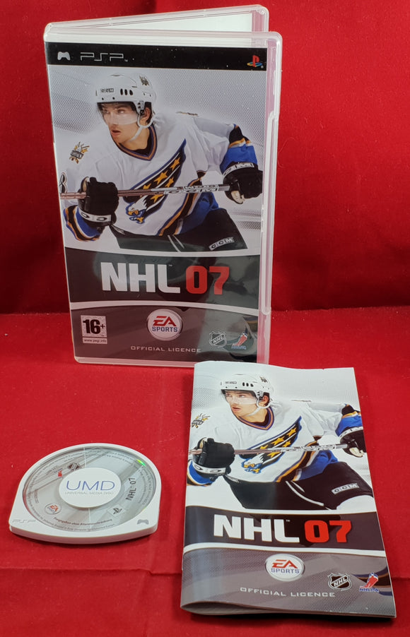 NHL 07 Sony PSP Game