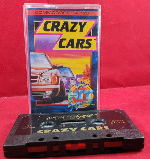 Crazy Cars Commodore 64 Game