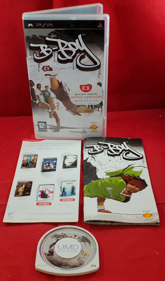 B-Boy Sony PSP Game