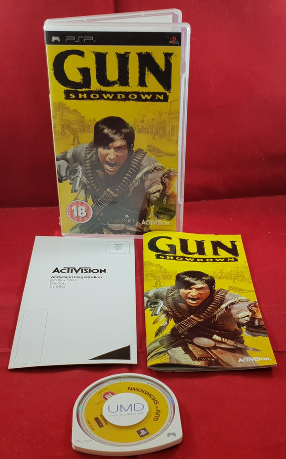 Gun Showdown Sony PSP Game