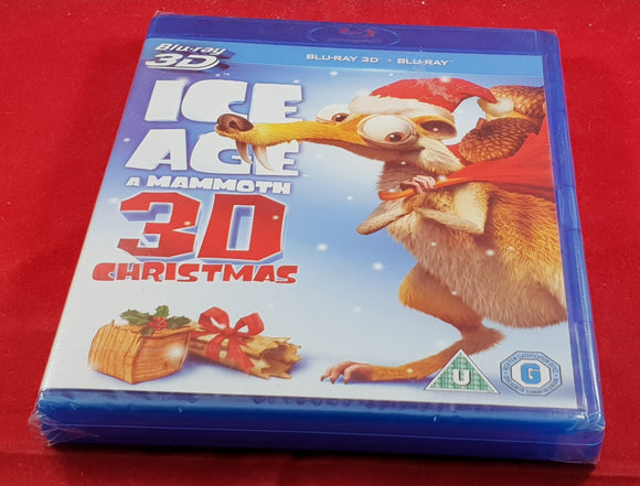 Brand New and Sealed Ice Age a Mammoth 3D Christmas Blu Ray DVD