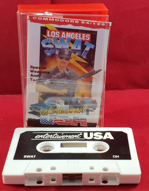 Los Angeles SWAT Commodore 64 Game