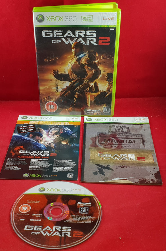 Gears of Wars 2 Microsoft Xbox 360 Game