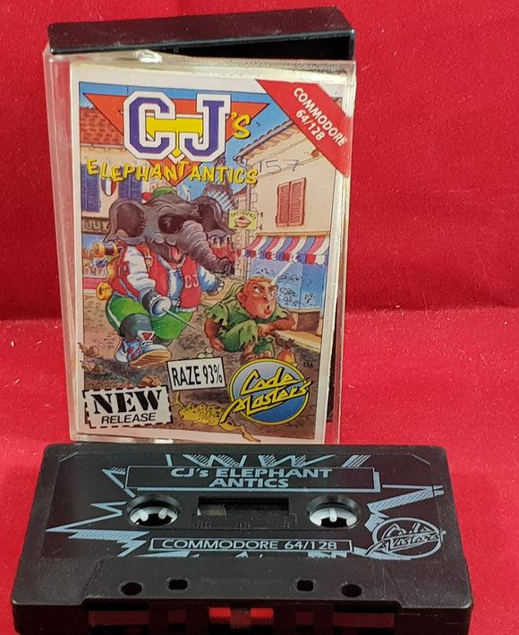 CJ's Elephant Antics Commodore 64 Game