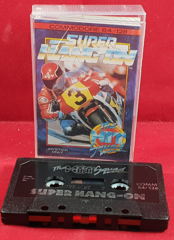 Super Hang-On Commodore 64 Game