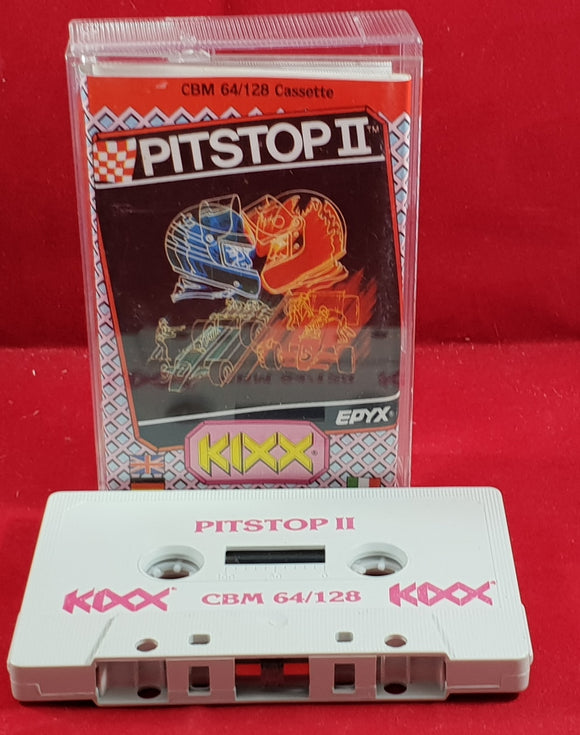 Pitstop II Commodore 64 Game