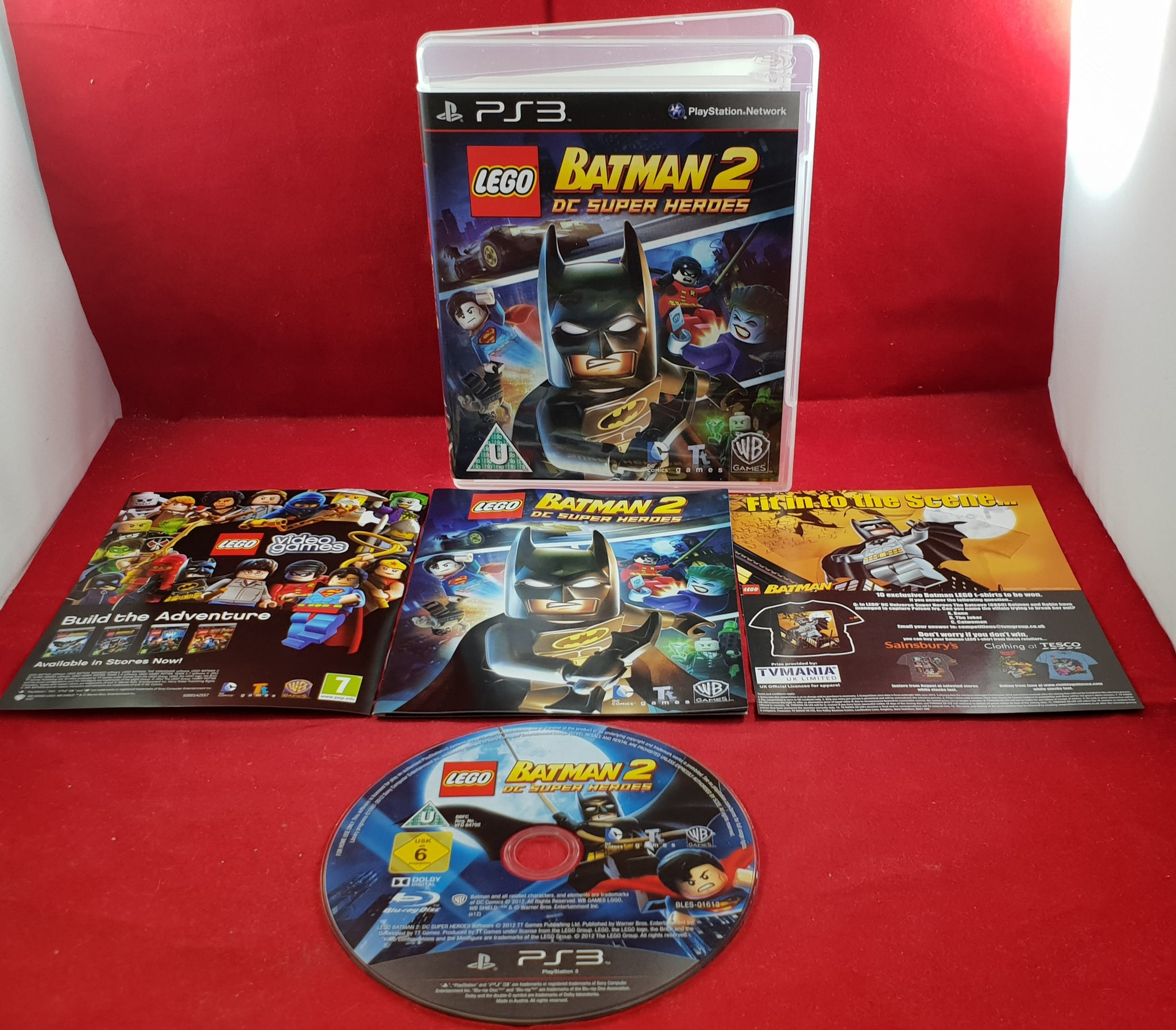 Lego Batman 2 Dc Super Heroes Ps3 Sony Playstation 3 Game Retro Gamer Heaven