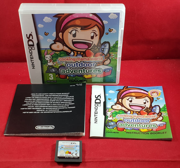 Cooking Mama World Outdoor Adventures Nintendo DS Game