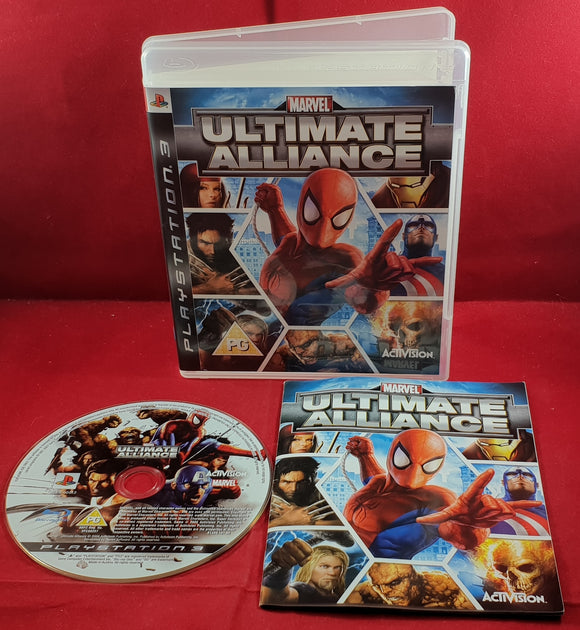 Marvel Ultimate Alliance  Sony Playstation 3 (PS3) Game