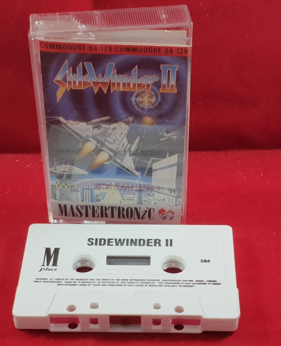 SideWinder II Commodore 64 RARE Game