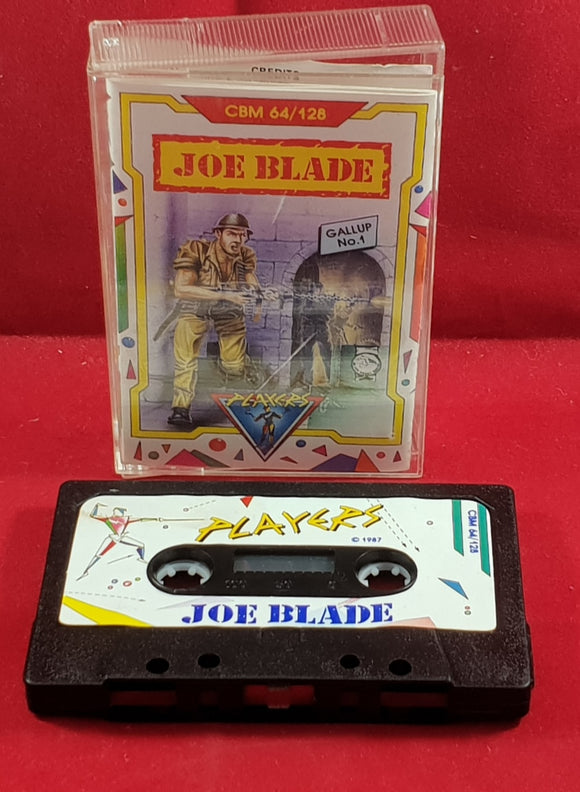 Joe Blade Commodore 64 Game