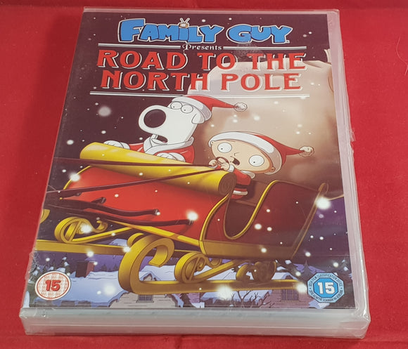 Brand New and Sealed Family Guy Presents Road to the North Pole DVD