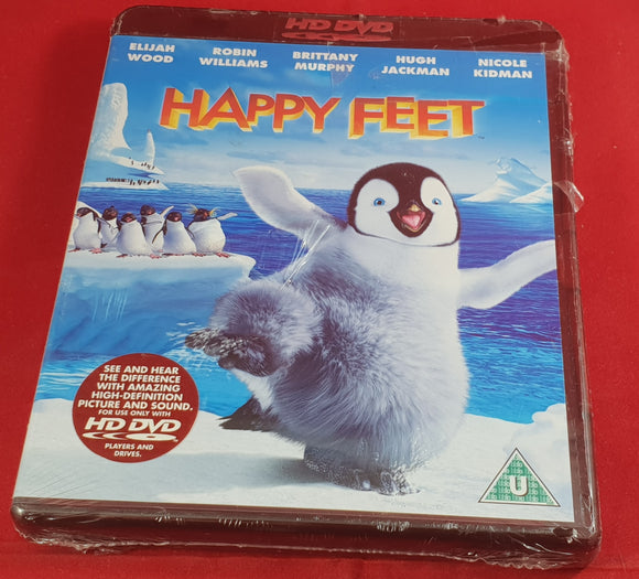 Brand New and Sealed Happy Feet HD DVD