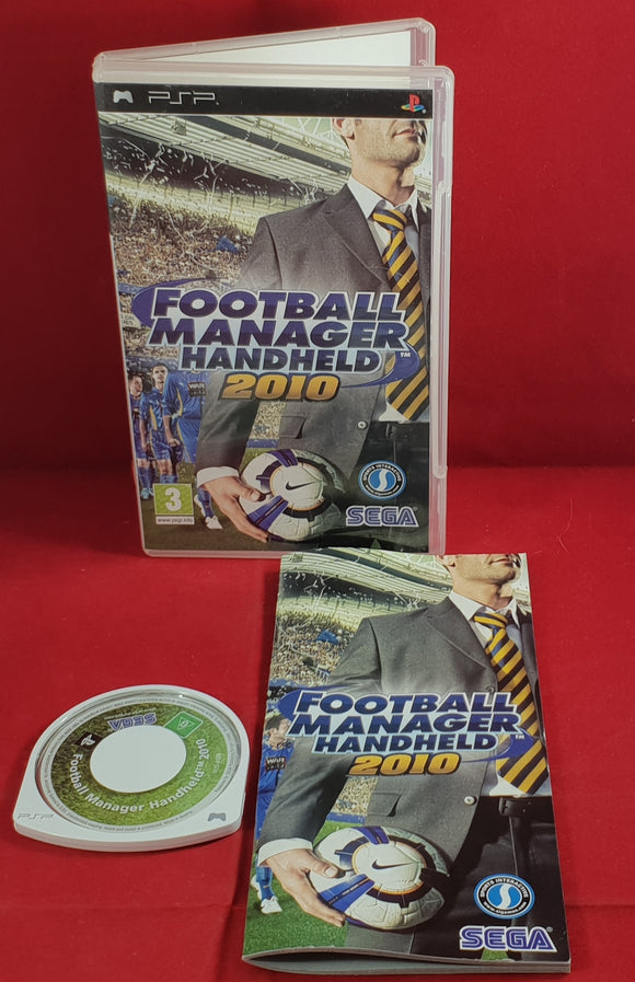 Football Manager Handheld 2010 Sony PSP Game