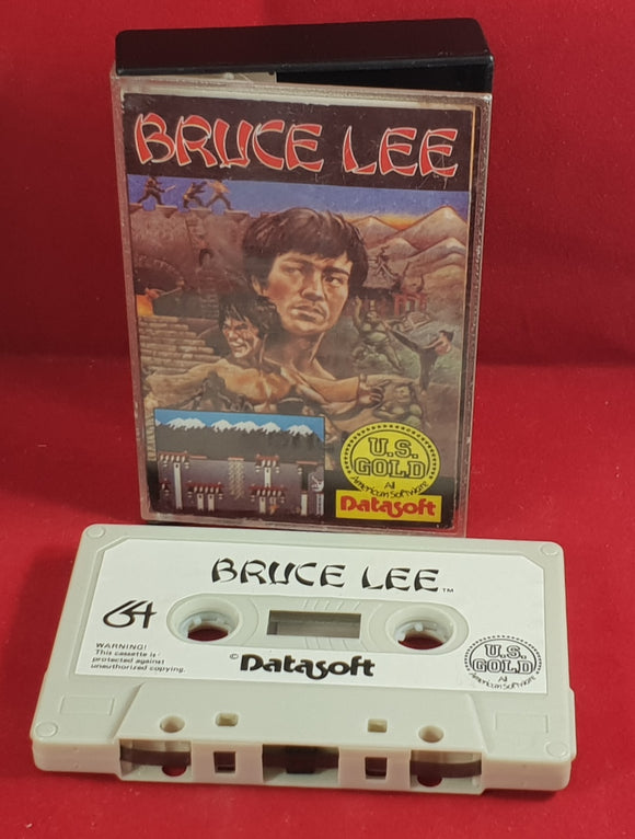 Bruce Lee Commodore 64 Ultra RARE Game