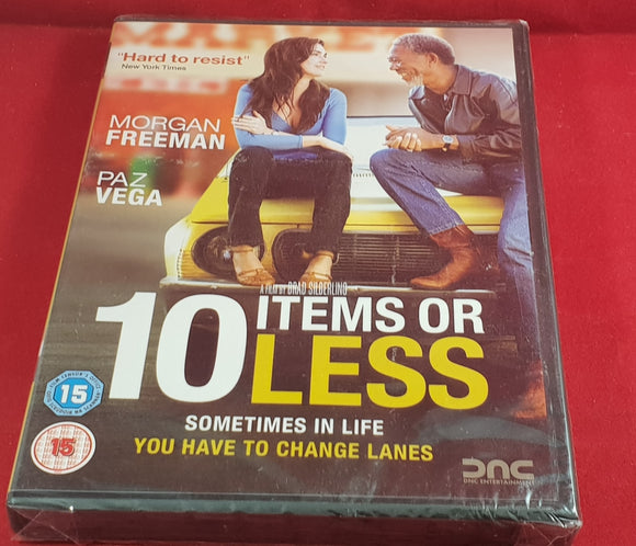 Brand New and Sealed 10 Items or Less DVD