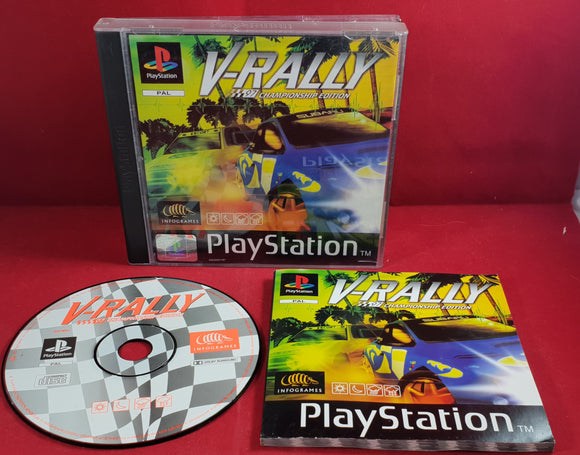 V-Rally Championship Edition  Sony PlayStation 1 (PS1)