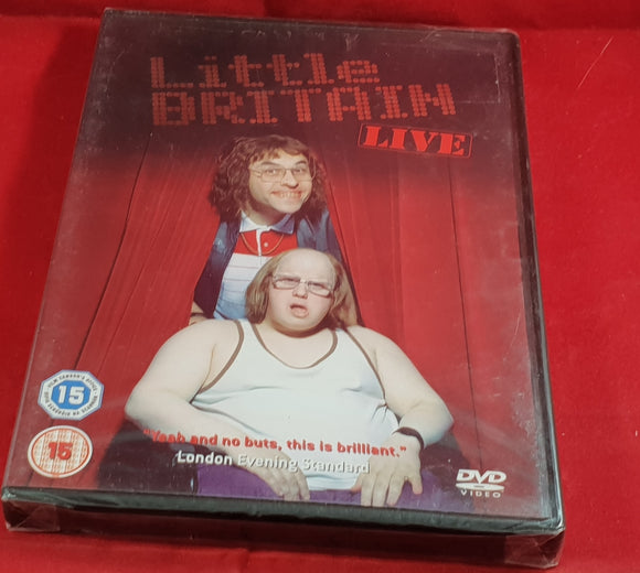 Brand New and Sealed Little Britain Live DVD