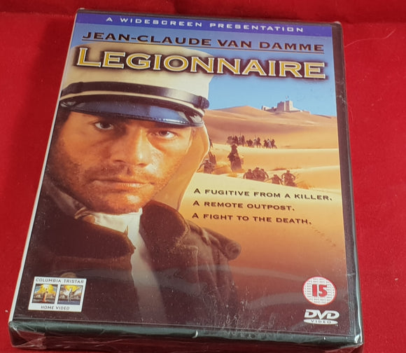 Brand New and Sealed Legionnaire DVD