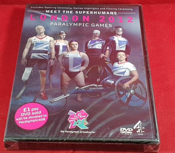 Brand New and Sealed London 2012 Paralympic Games DVD