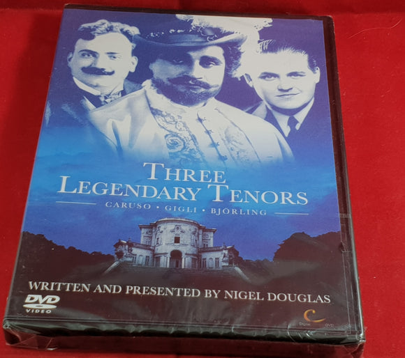 Brand New and Sealed Three Legendary Tenors  DVD