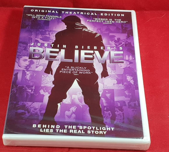 Brand New and Sealed Justin Bieber's Believe