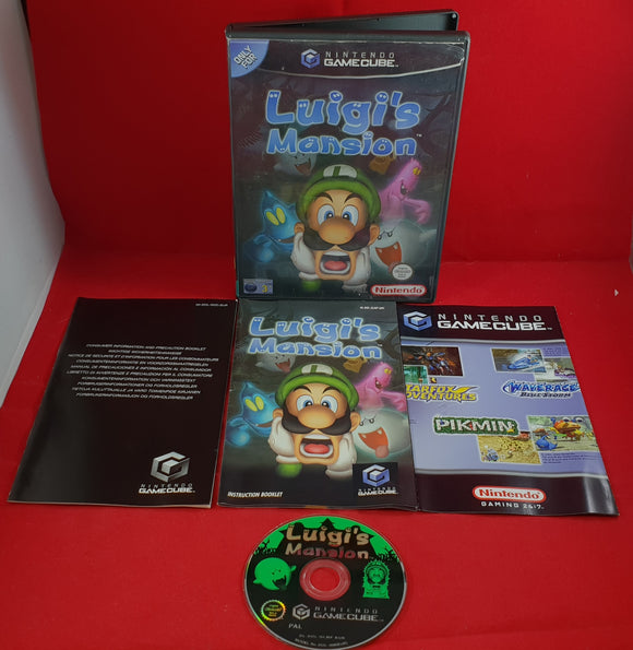 Luigi's Mansion Nintendo GameCube Game