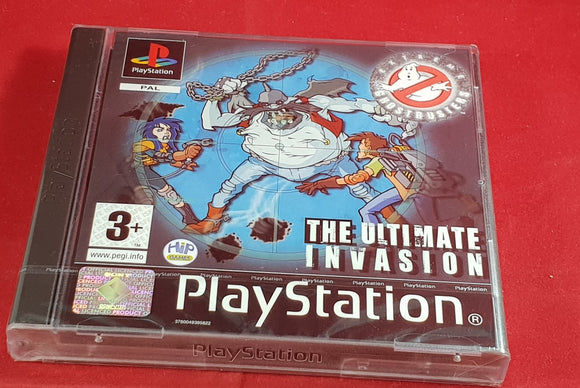 Brand New and Sealed Extreme Ghostbusters the Ultimate Invasion Sony Playstation 1 (PS1) Game