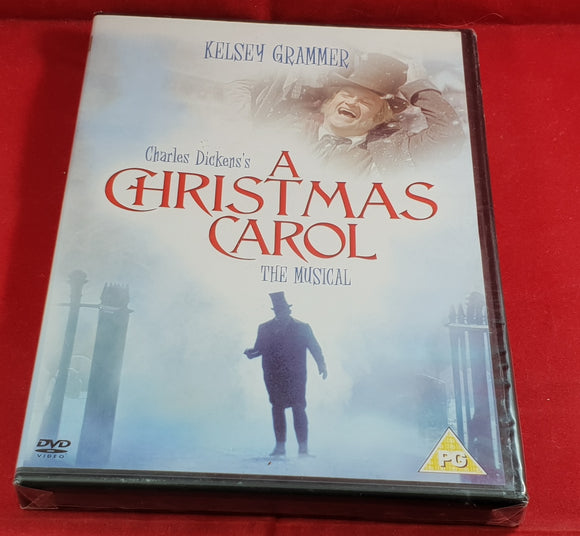 Brand New and Sealed A Christmas Carol the Musical DVD
