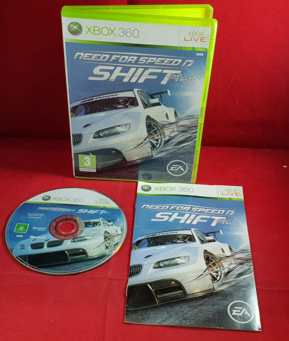 Need for Speed Shift Microsoft Xbox 360 Game