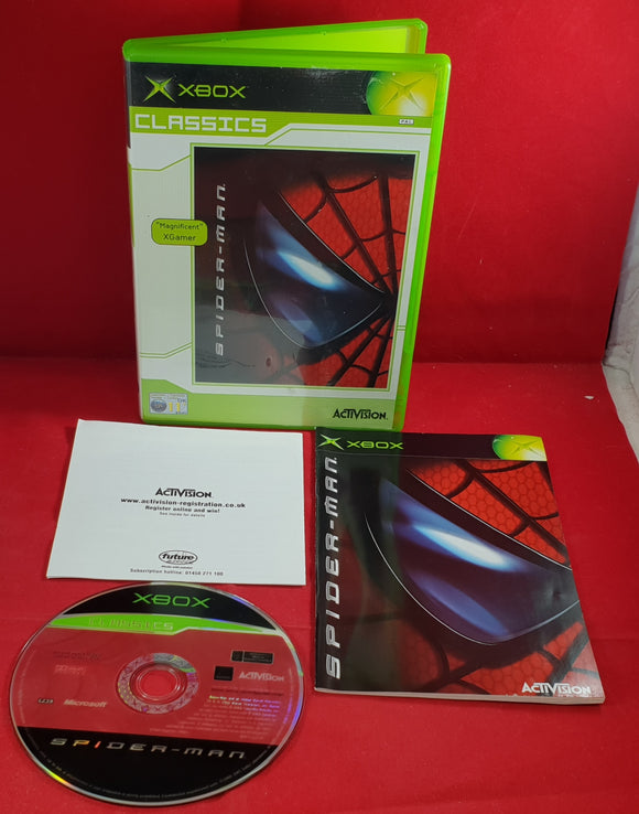 Spider-Man Microsoft Xbox Game