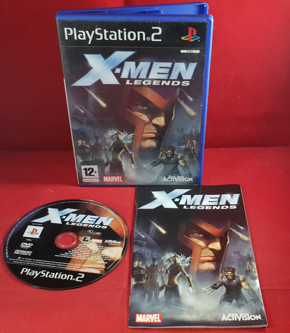 X-Men Legends Sony Playstation 2 (PS2) Game