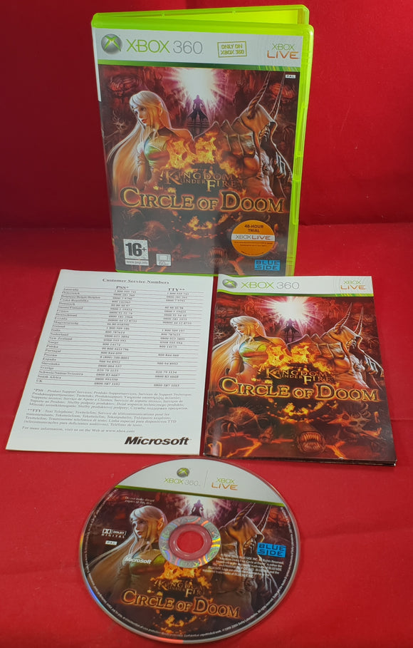 Kingdom Under Fire Circle of Doom Microsoft Xbox 360 Game