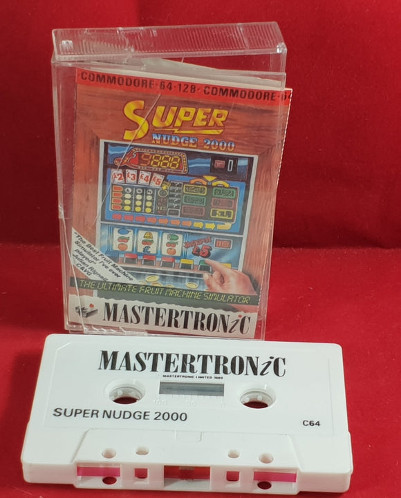 Super Nudge 2000 Commodore 64 Game
