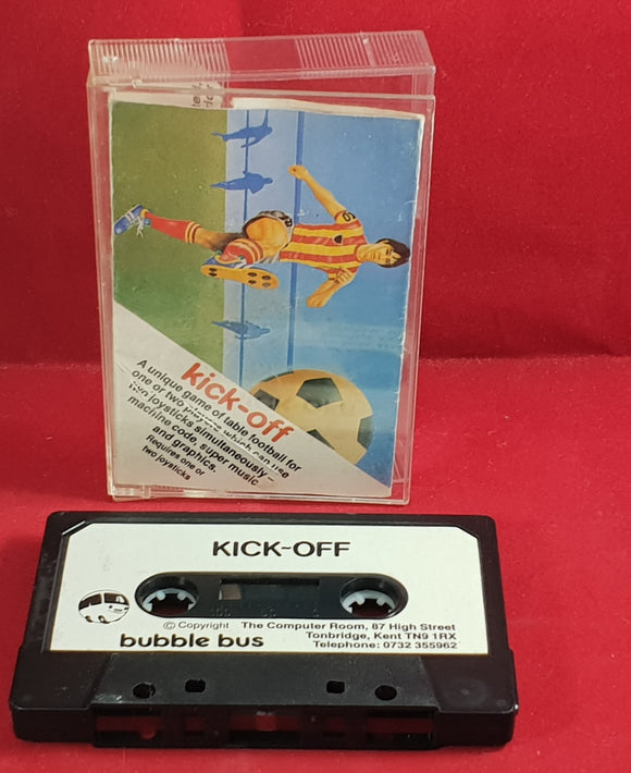 Kick-Off Commodore 64 Game